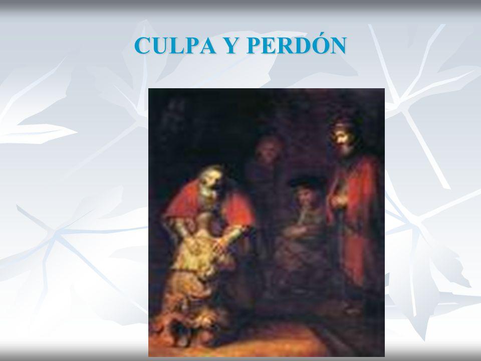 CULPA Y PERDÓN