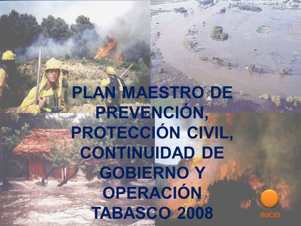 PLAN MAESTRO DE PREVENCIÓN,