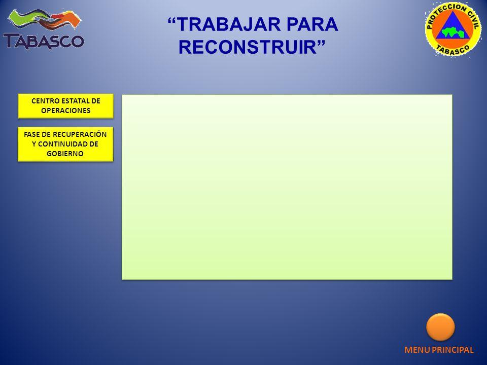 TRABAJAR PARA RECONSTRUIR