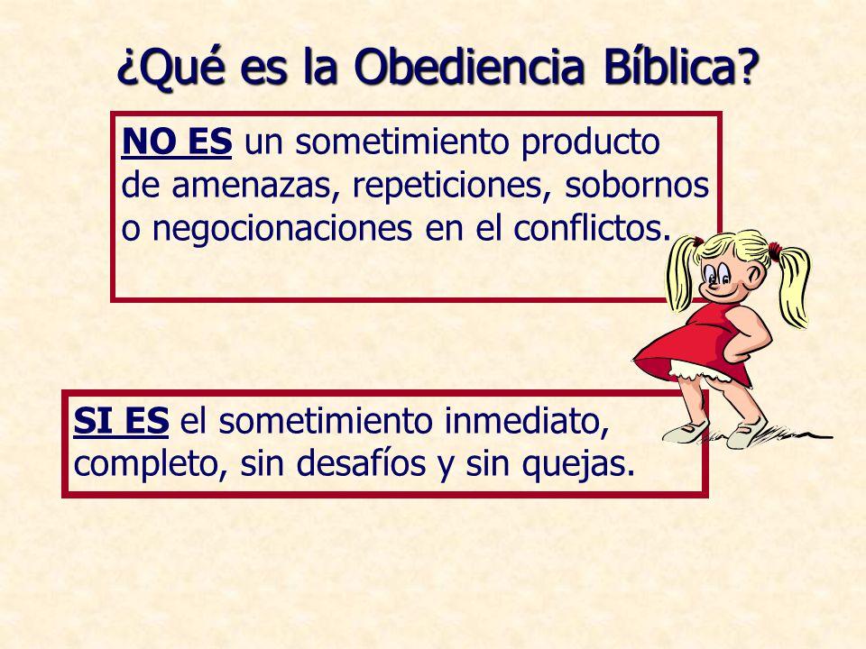 ¿Qué es la Obediencia Bíblica