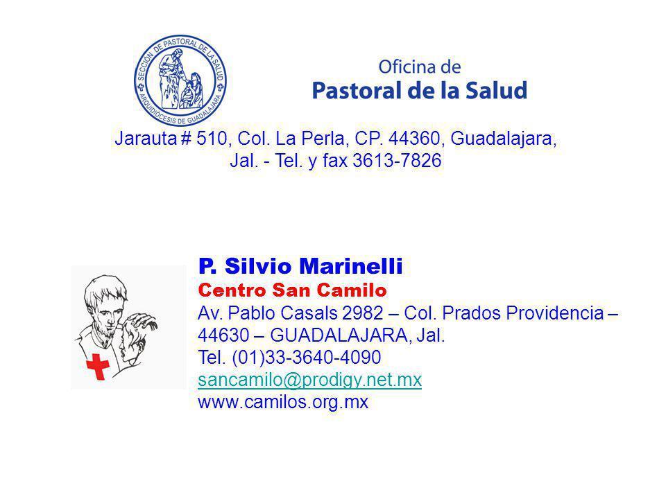 Jarauta # 510, Col. La Perla, CP. 44360, Guadalajara, Jal. - Tel