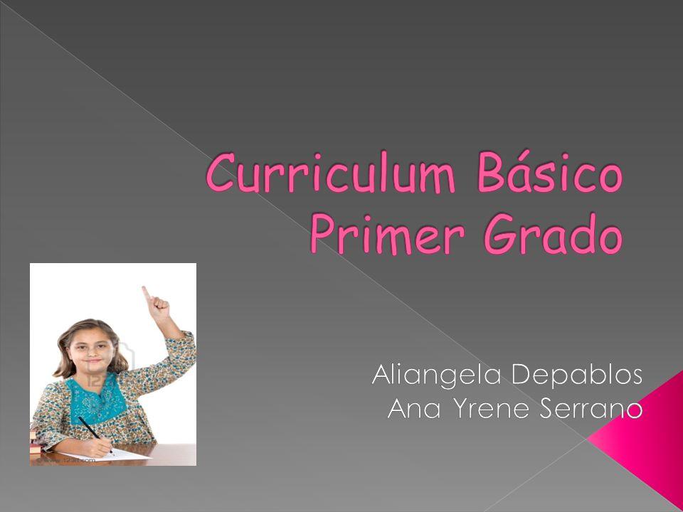 Curriculum Básico Primer Grado