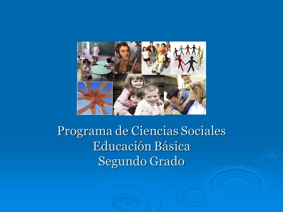Programa de Ciencias Sociales Educación Básica Segundo Grado