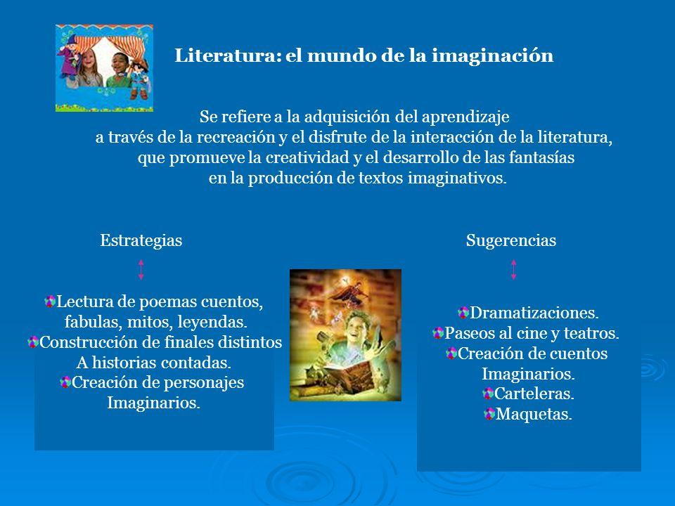 Literatura: el mundo de la imaginación