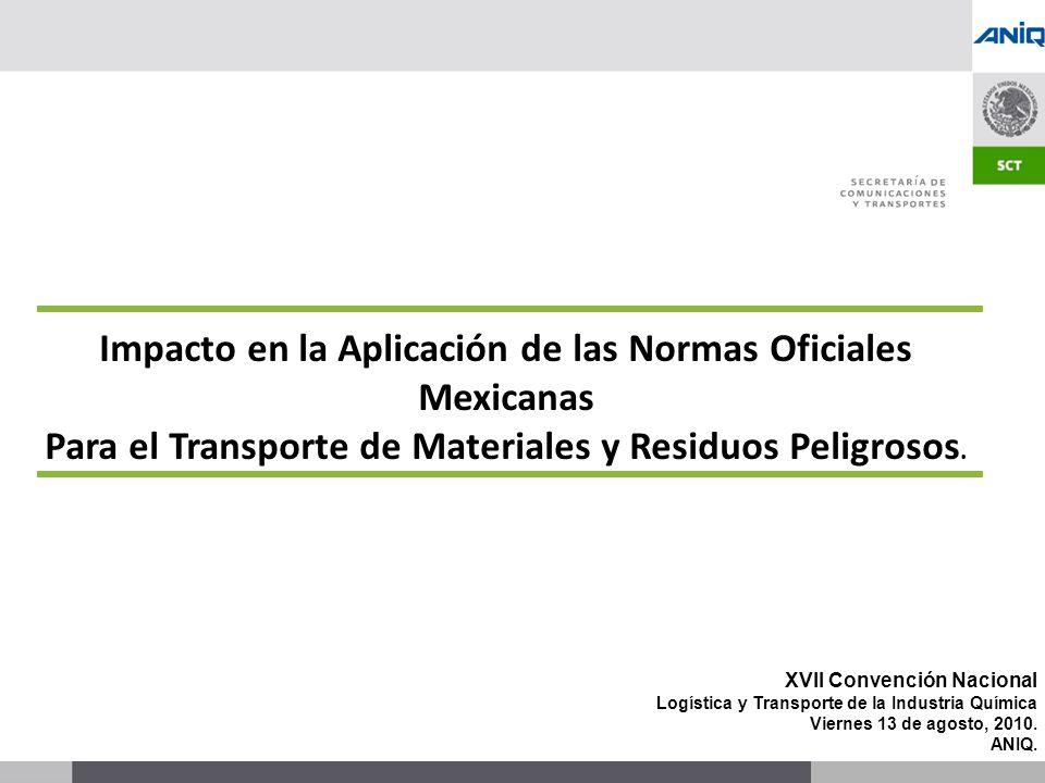 Impacto en la Aplicación de las Normas Oficiales Mexicanas