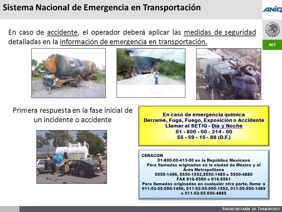 Sistema Nacional de Emergencia en Transportación