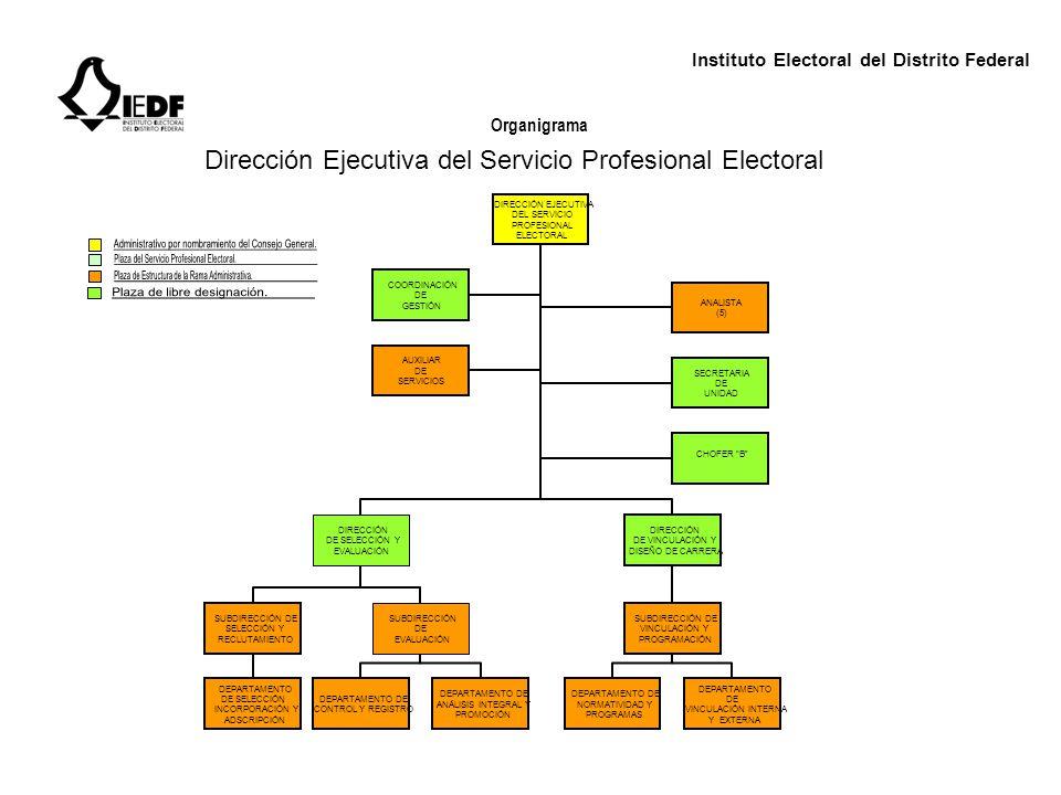 Dirección Ejecutiva del Servicio Profesional Electoral