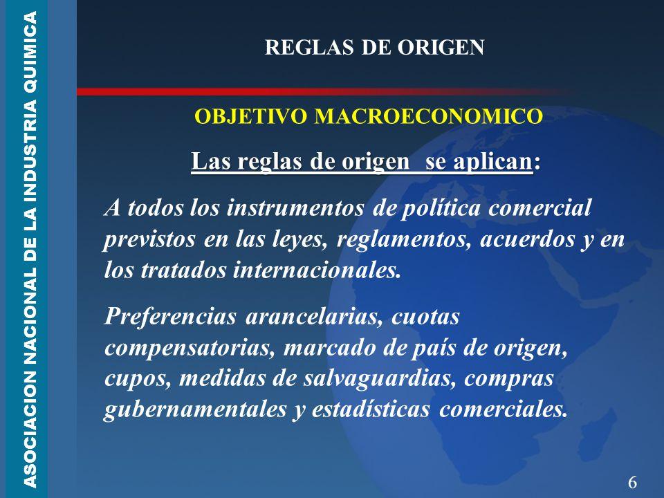 OBJETIVO MACROECONOMICO