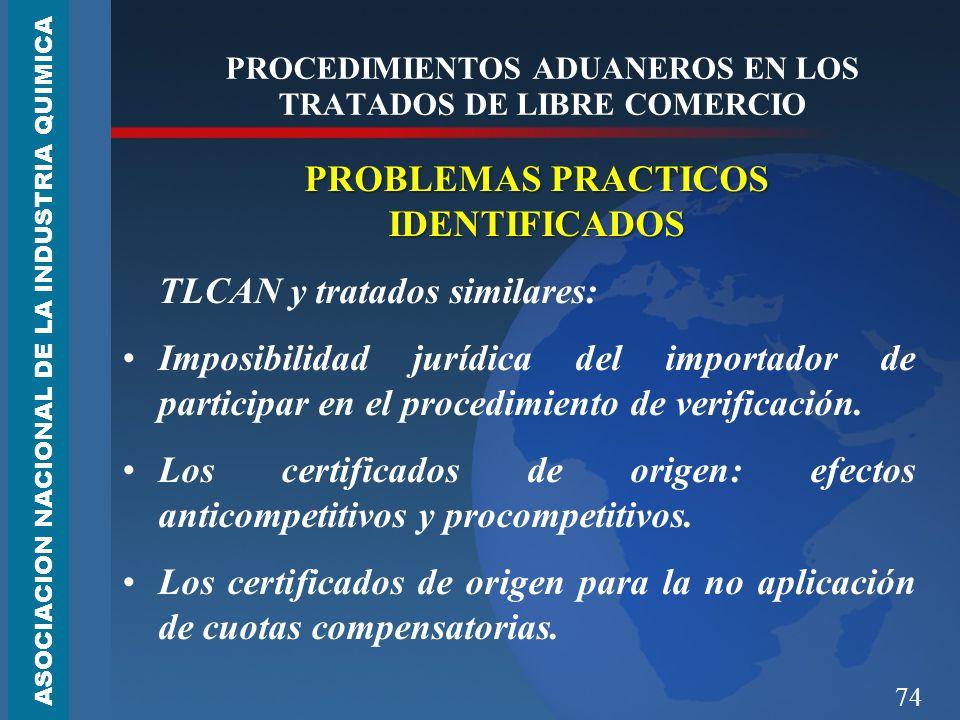 PROCEDIMIENTOS ADUANEROS EN LOS TRATADOS DE LIBRE COMERCIO