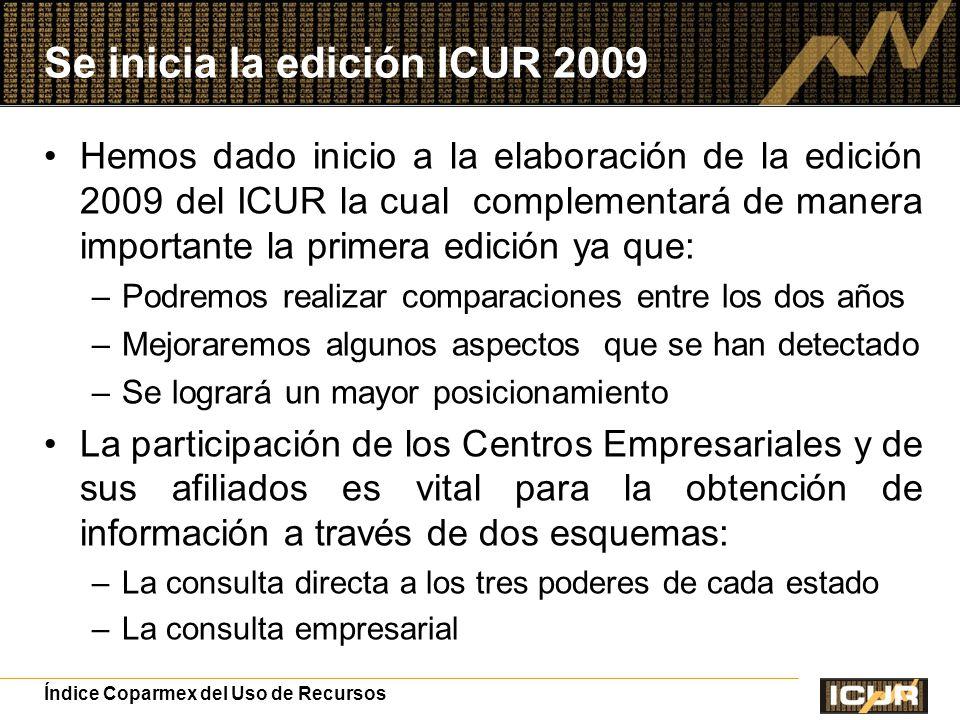 Se inicia la edición ICUR 2009
