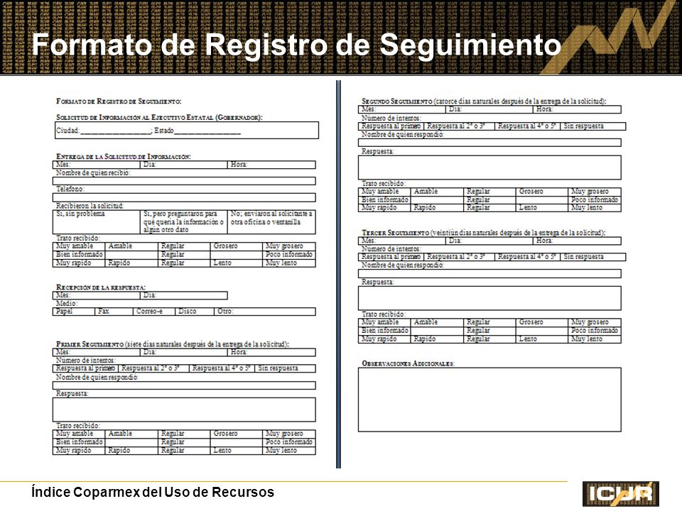 Formato de Registro de Seguimiento
