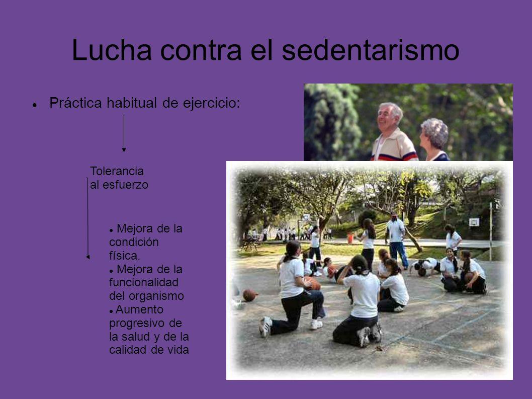 Lucha contra el sedentarismo