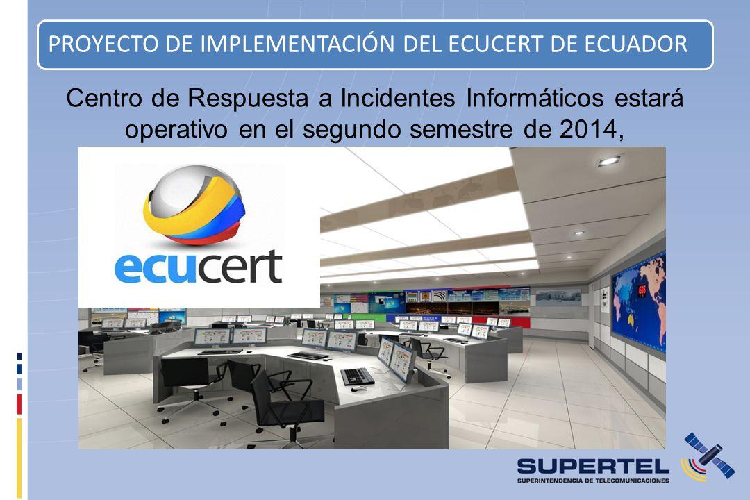 PROYECTO DE IMPLEMENTACIÓN DEL ECUCERT DE ECUADOR