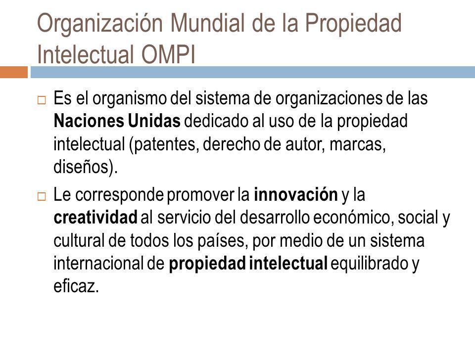 Organización Mundial de la Propiedad Intelectual OMPI