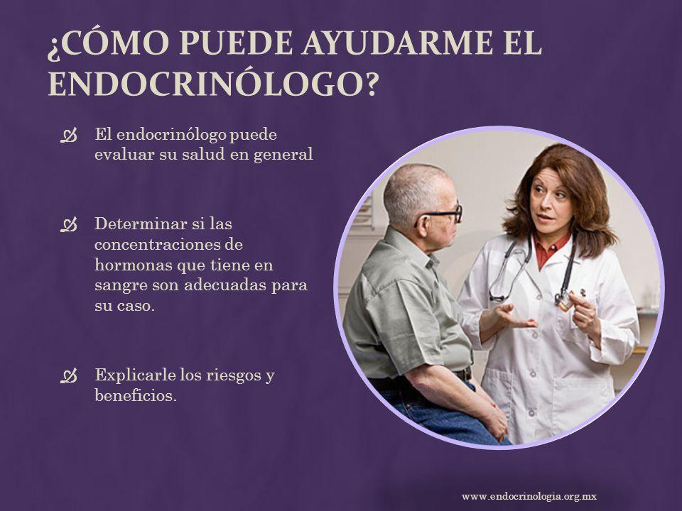 ¿Cómo puede ayudarme el endocrinólogo
