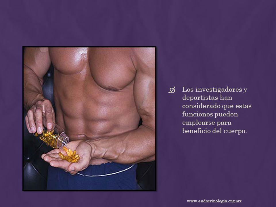 Los investigadores y deportistas han considerado que estas funciones pueden emplearse para beneficio del cuerpo.