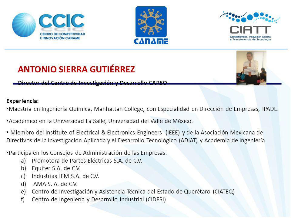 ANTONIO SIERRA GUTIÉRREZ