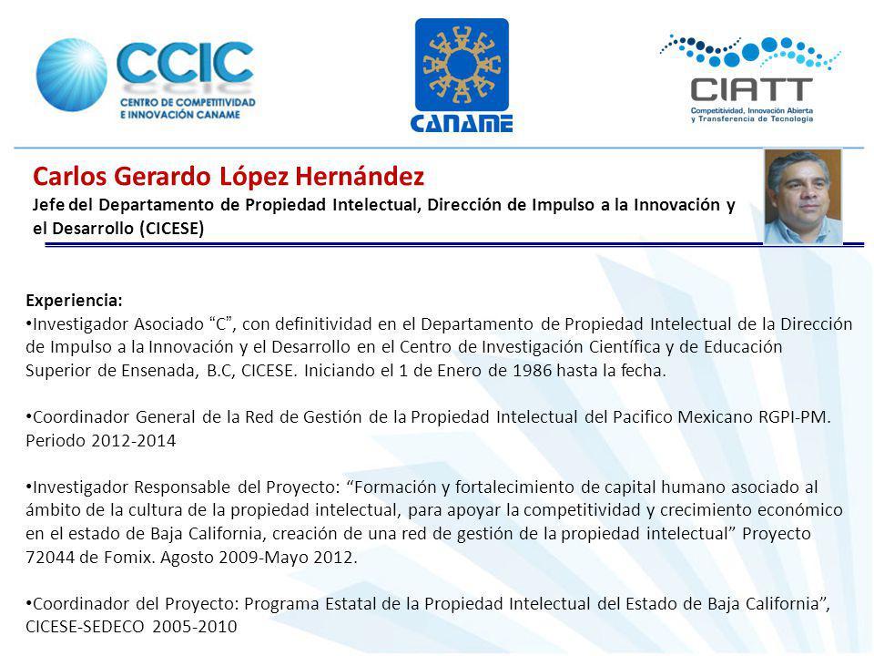 Carlos Gerardo López Hernández