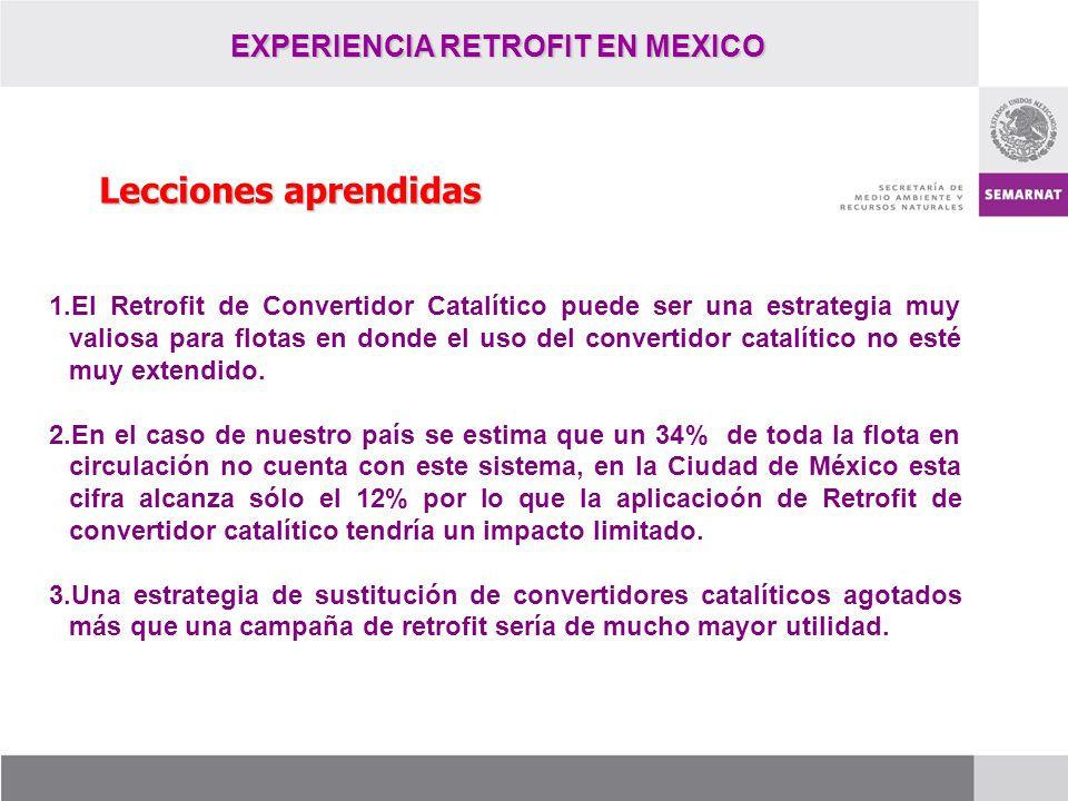 EXPERIENCIA RETROFIT EN MEXICO