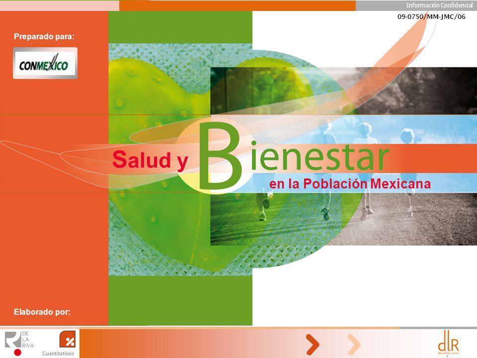 Salud y en la Población Mexicana Preparado para: Elaborado por: