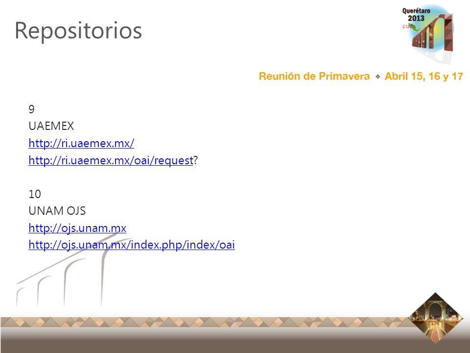 Repositorios 9 UAEMEX http://ri.uaemex.mx/ http://ri.uaemex.mx/oai/request.