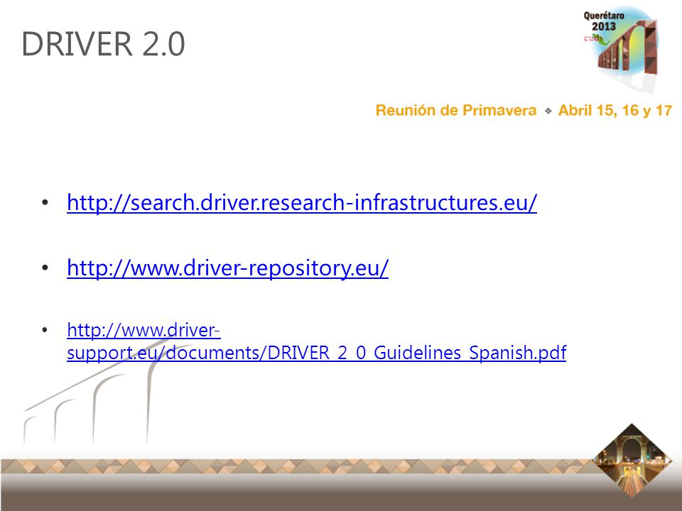 DRIVER 2.0 http://search.driver.research-infrastructures.eu/