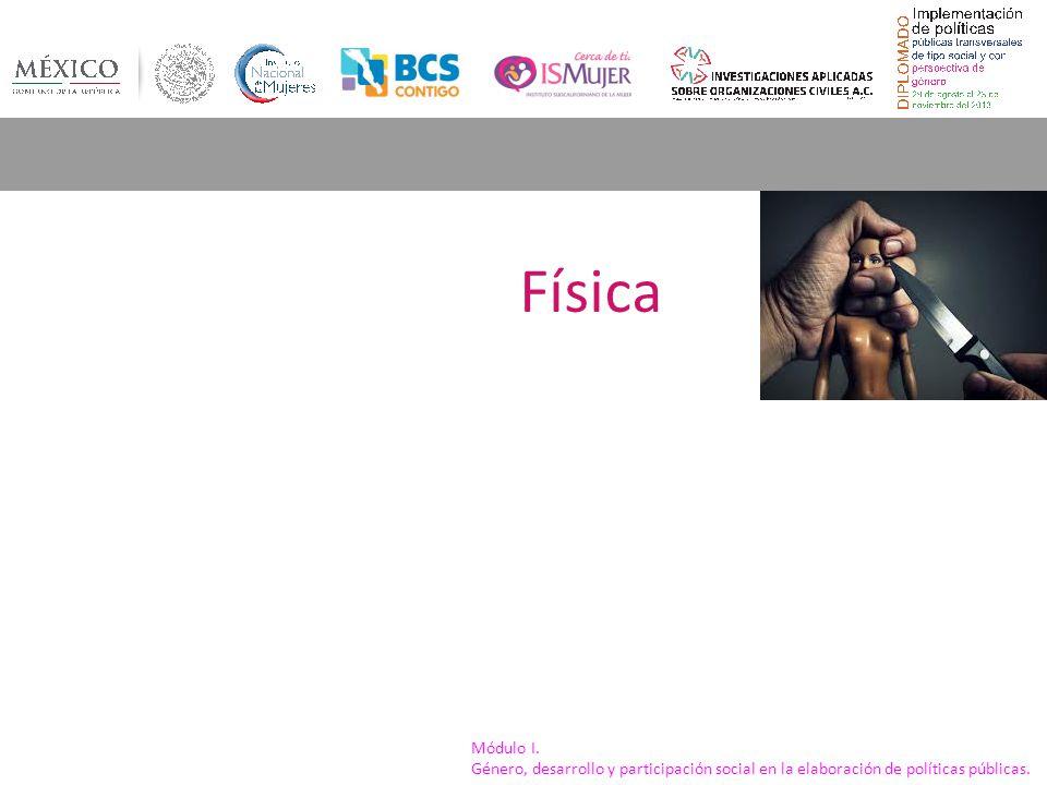 Física Módulo I. Género, desarrollo y participación social en la elaboración de políticas públicas.
