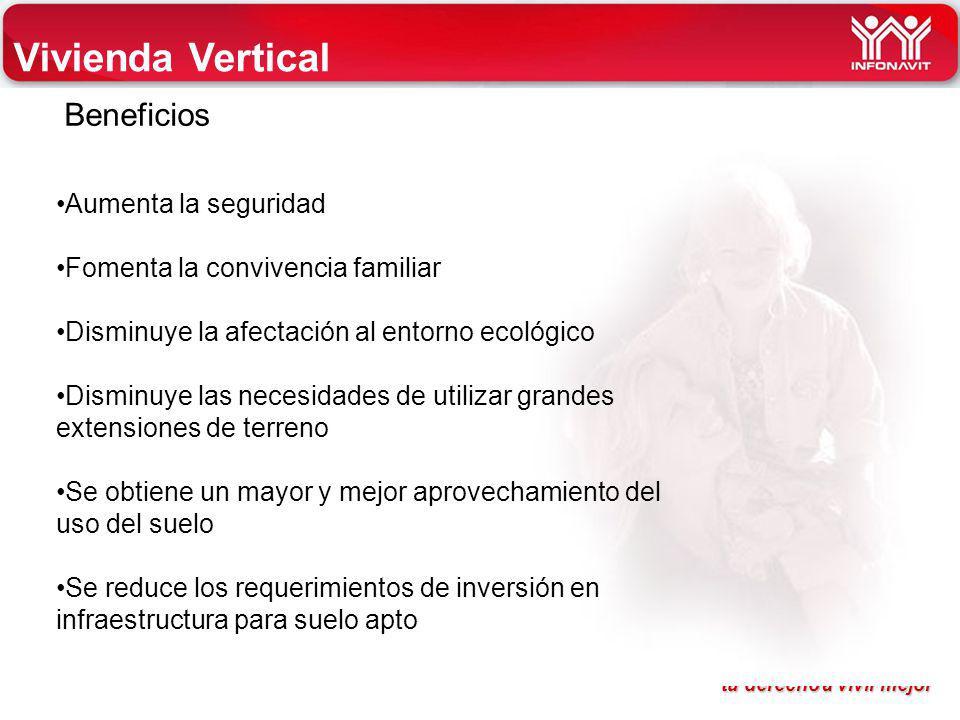 Vivienda Vertical Beneficios Aumenta la seguridad