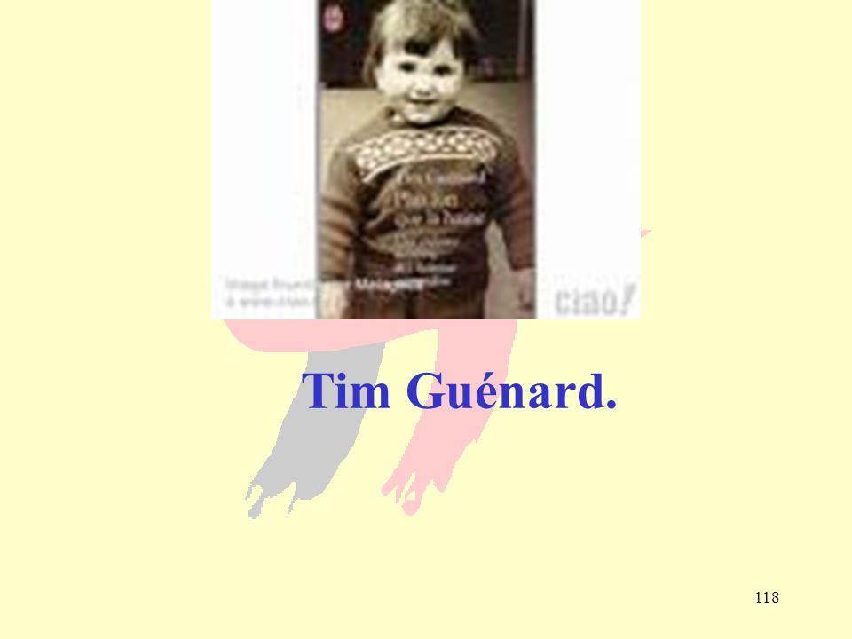 Tim Guénard.