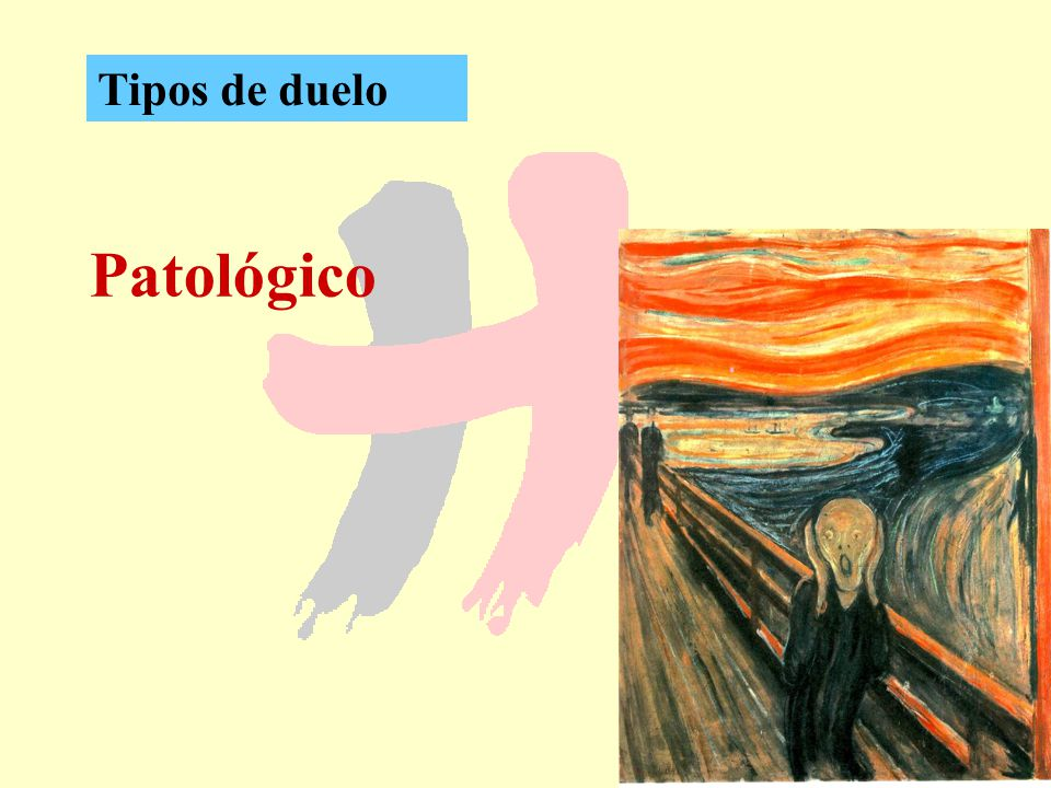 Tipos de duelo Patológico
