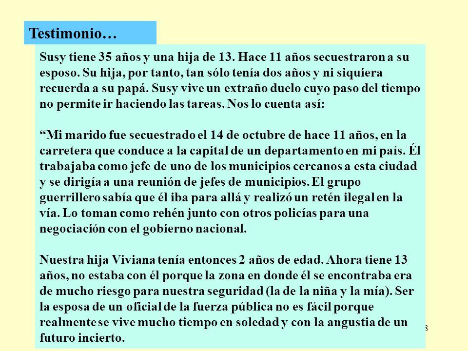 Testimonio…
