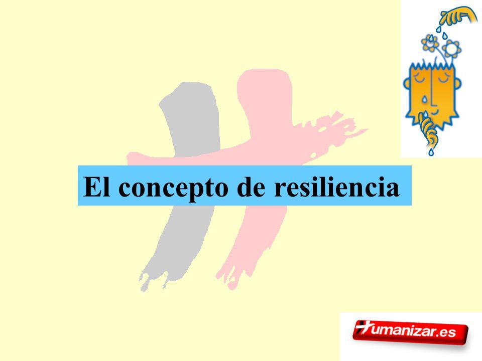 El concepto de resiliencia