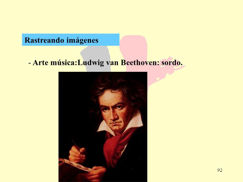 Rastreando imágenes Arte música:Ludwig van Beethoven: sordo.
