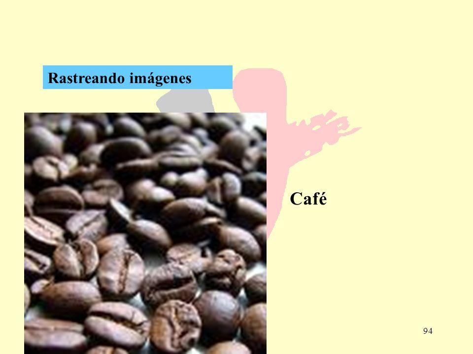 Rastreando imágenes Café