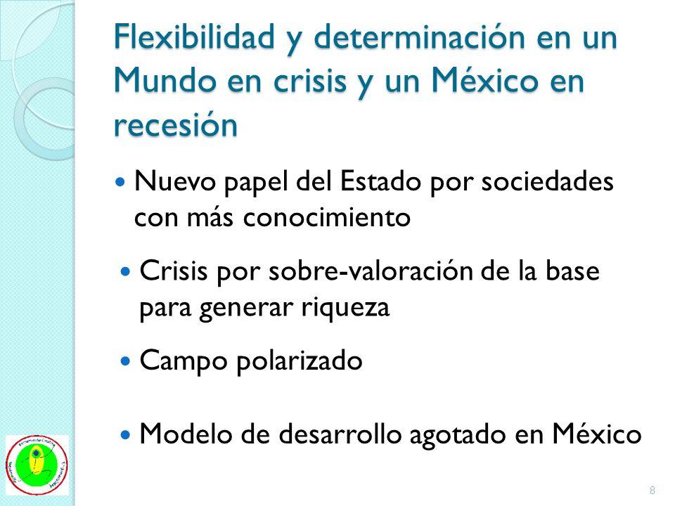 Flexibilidad y determinación en un Mundo en crisis y un México en recesión
