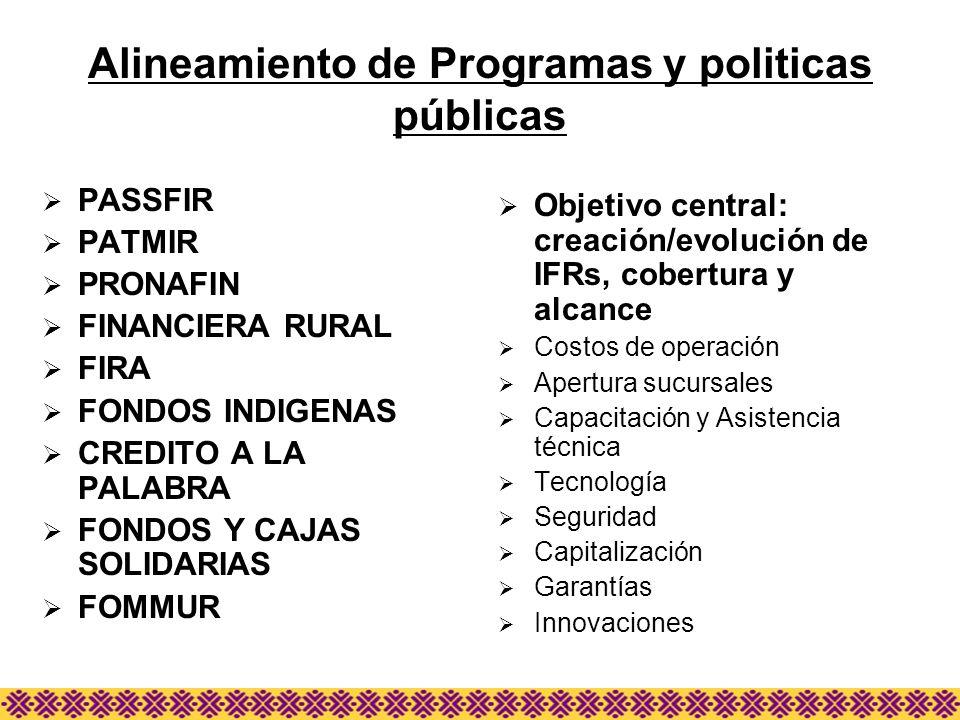 Alineamiento de Programas y politicas públicas
