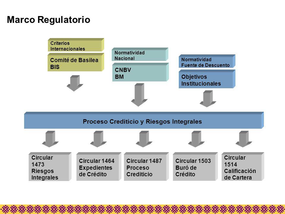 Proceso Crediticio y Riesgos Integrales