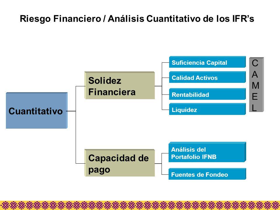 Riesgo Financiero / Análisis Cuantitativo de los IFR's