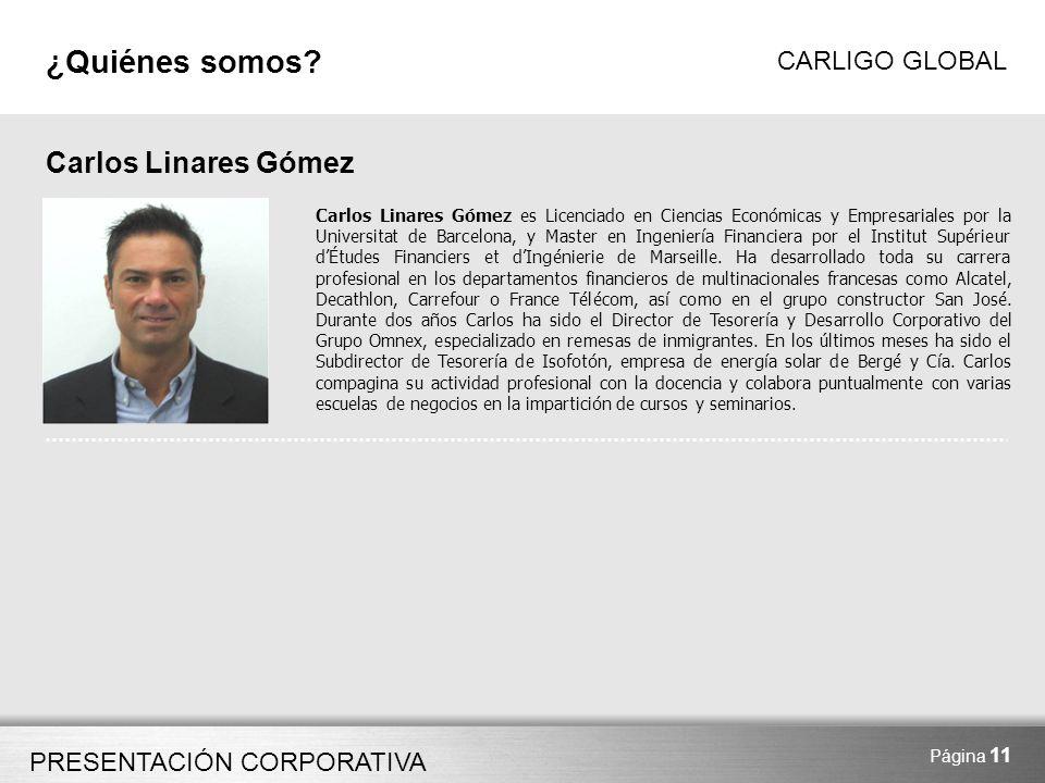 ¿Quiénes somos Carlos Linares Gómez