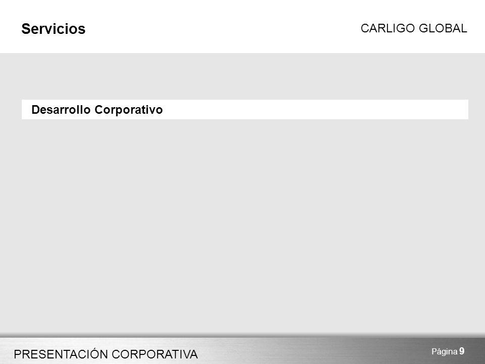 Servicios Desarrollo Corporativo Página 9