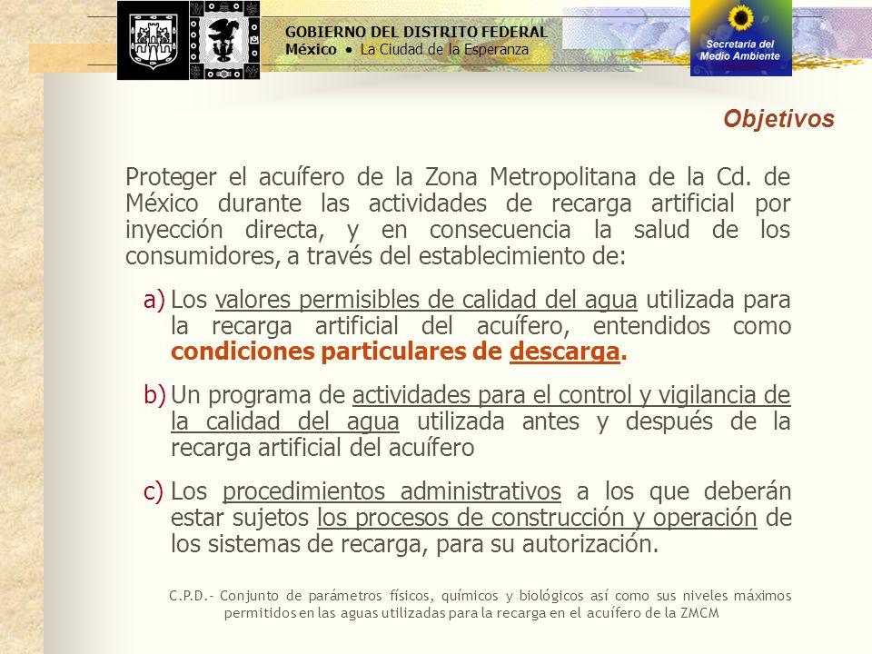 GOBIERNO DEL DISTRITO FEDERAL México  La Ciudad de la Esperanza