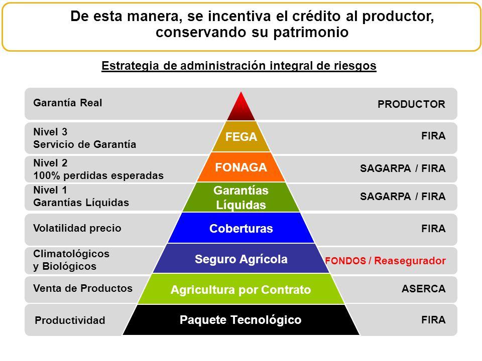 De esta manera, se incentiva el crédito al productor, conservando su patrimonio