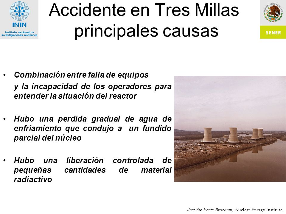 Accidente en Tres Millas principales causas