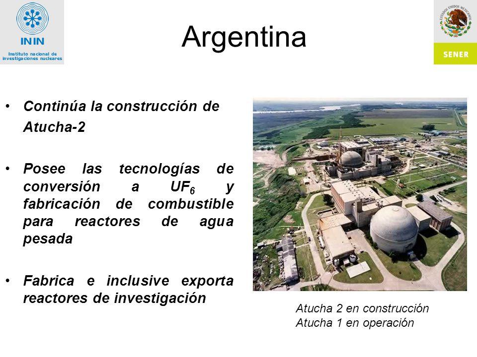 Argentina Continúa la construcción de Atucha-2