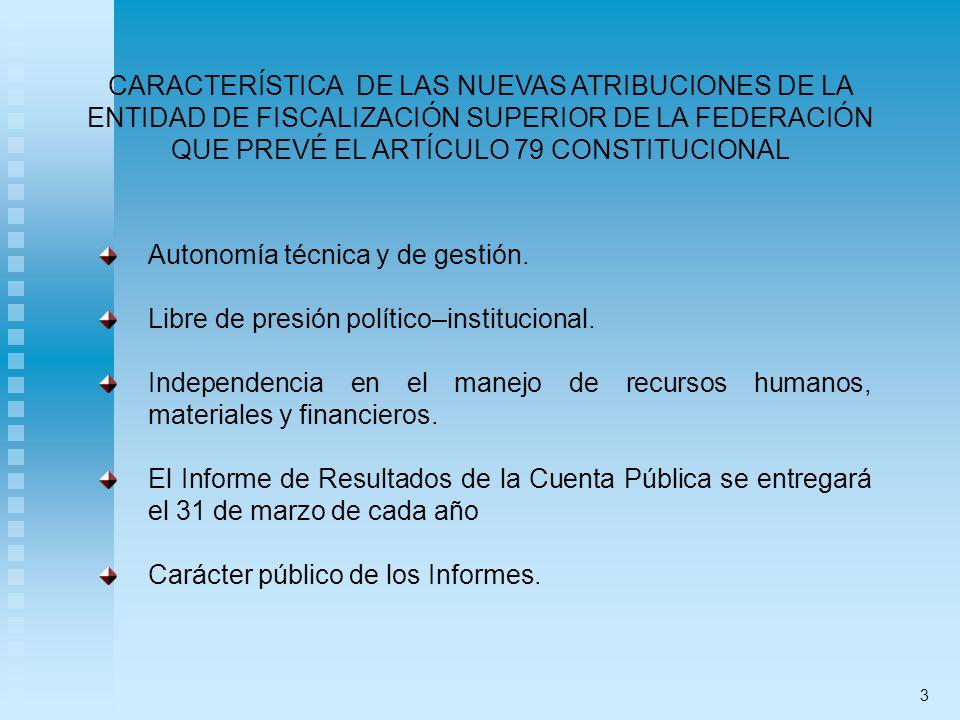 Autonomía técnica y de gestión.
