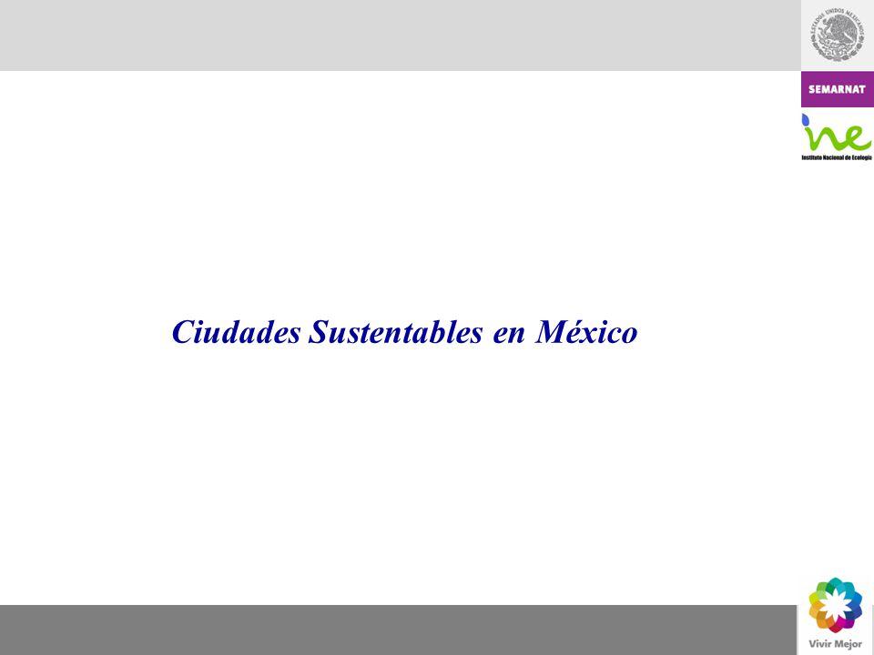 Ciudades Sustentables en México