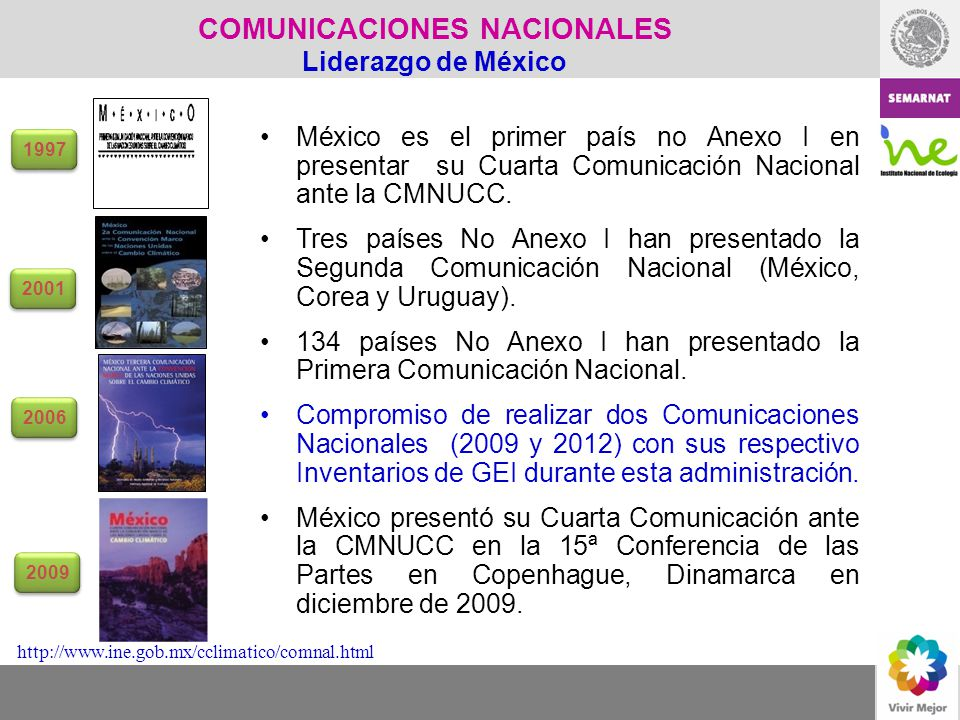 COMUNICACIONES NACIONALES Liderazgo de México