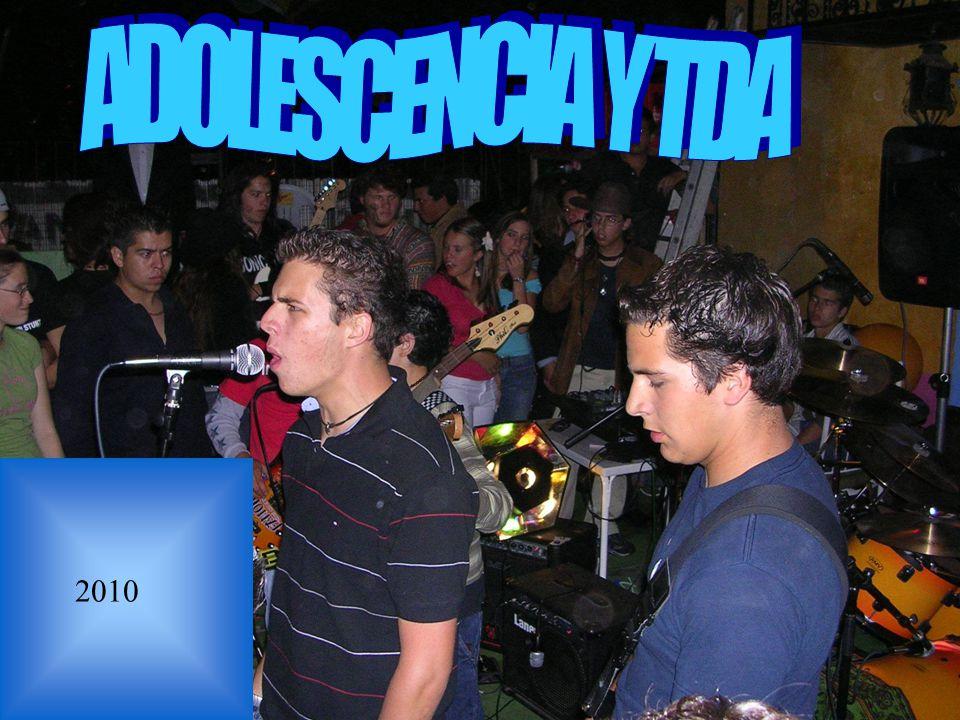 ADOLESCENCIA Y TDA 2010