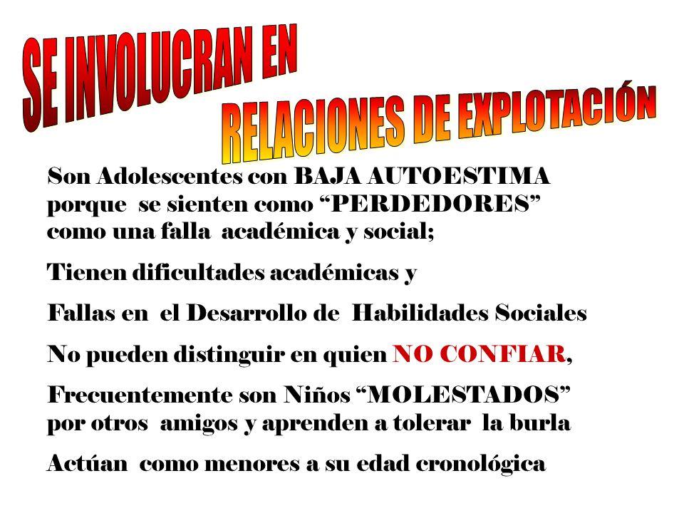 RELACIONES DE EXPLOTACIÓN