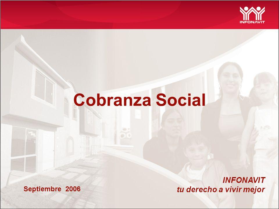 Cobranza Social INFONAVIT tu derecho a vivir mejor Septiembre 2006
